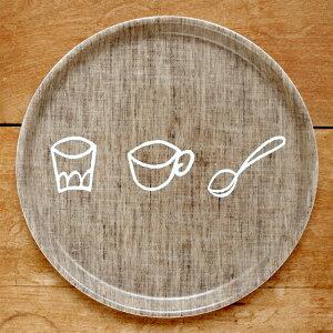 foglinenworksのリネンキッズトレイ-お食事