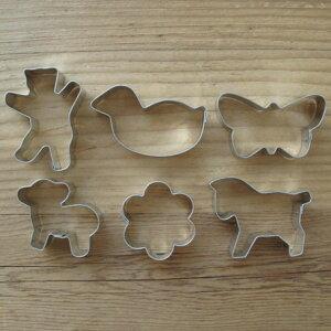 ドイツ製ドイツ製 ミニクッキー型 クリーチャー