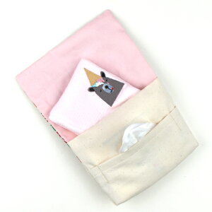 移動ポケットクリップ女の子男の子日本製リバティ生地使用【メール便対象品】