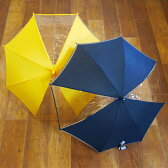 【SALE】傘 キッズ 無地 女の子 男の子 子供 45cm 50cm 55cm 透明窓付き