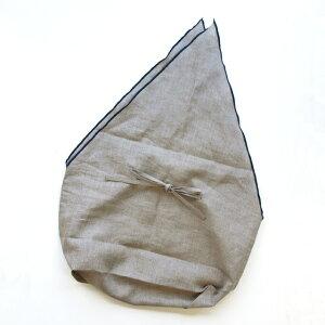 ラトビア製のインバッグ付きカゴバッグ