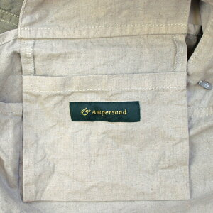 ampersandアンパサンドリネンエコバッグ