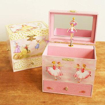 オルゴール バレリーナ 回転 宝石箱 ジュエリーボックス プレゼント 小物入れ おもちゃ 女の子 かわいい ENCHANTMINTS エンチャントミンツ オルゴール付きジュエリーBOX