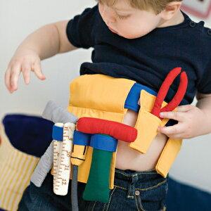 オスカー&エレンの布おもちゃツールベルト
