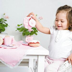 ごっこ遊び布おもちゃ女の子かわいい出産祝い誕生日食材ティーセットケーキサンドイッチスウェーデンOskar&ellenオスカー&エレンイングリッシュアフタヌーンティーセット