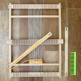 織り機 手織り機 手芸 編み機 知育玩具 おもちゃ 女の子 誕生日 木製 ドイツ ヘルムート ミューラー 手織り機 大