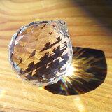 サンキャッチャー スワロフスキー クリスタル パーツ ビッグボール 3cm