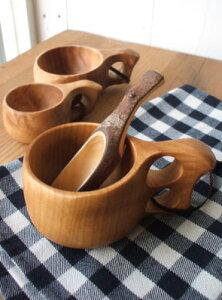フィンランドの木製カップKuksaククサ-ミニ