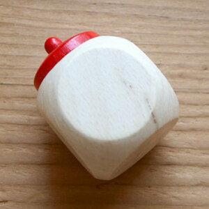 ドイツ製の木製乳歯ケースと産毛ケース