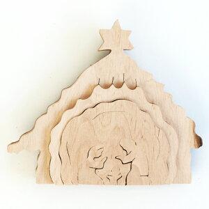 ドイツ製のクリスマス木製オブジェ