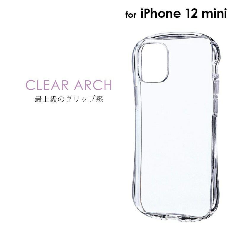 スマートフォン・携帯電話アクセサリー, ケース・カバー iPhone 12 mini CLEAR Arch LP-IS20CAR mst-21477