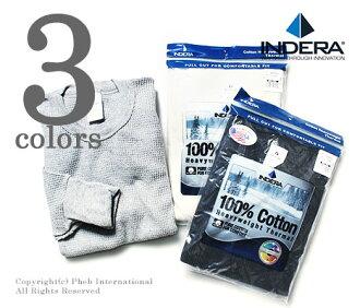 INDERA Mills (Indira) /INDERA MILLS '' waffle dough' ' 100% cotton, 6.5 oz heavyweight thermal long T-shirt (839 LS)