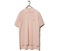Garment Dyed Cotton Pique Polo Shirt 5121-21705: Light Pink