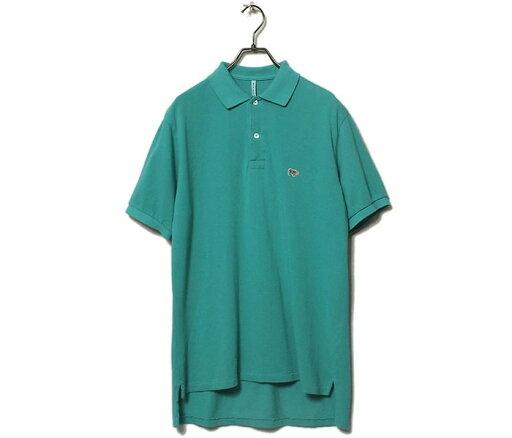 Garment Dyed Cotton Pique Polo Shirt 5121-21705: Turquoise