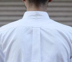 Finx Cotton Oxford Buttondown Shirt 5121-31513: White