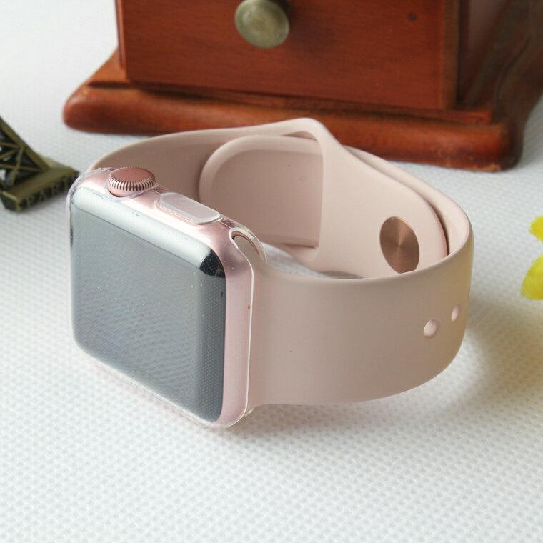 Apple Watch Series 4 ケース Apple Watch Series 4 本体 カバー 40mm 44mm ケース 全面保護 38mm 42mm Series 3 2 アップルウォッチ シリーズ4 フィルム+保護ケース一体 薄い クリア 透明 耐衝撃