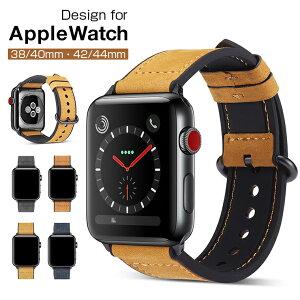 80adf4fc0d 【TPUケース付き】Apple Watch Series 4 バンド レザー Apple Watch Series4 バンド 革 44mm 40mm ベルト  アップルウォッチ 38... 対応機種・Apple Watch Series 4 ...