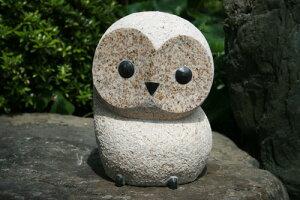 """【送料無料】錆石だるまフクロウ(BIGサイズ)""""縁起""""の良いフクロウはいかがでしょうか^^贈り物にも喜ばれます☆"""