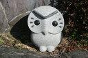 【送料無料】涙ふくろう【小サイズ】「御影石」お庭や玄関先にいかが...
