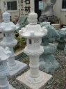 春日燈籠(4尺・岡崎型)錆び石日本庭園の定番商品!!和風を彩る必須アイテム!!