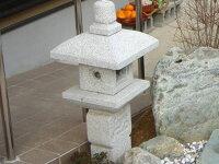 【送料無料】織部灯篭2.5尺(御影石)坪庭などに最適の灯篭です♪