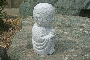 【送料無料】御影石のお地蔵様♪【石の置物・オーナメント】