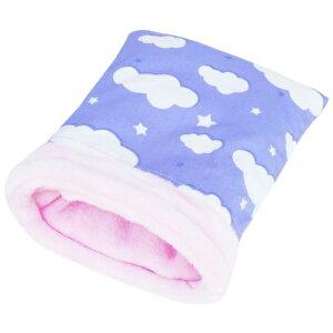 雲の寝ぶくろ(Mサイズ):パープル/ハリネズミモルモットデグーおうちハウスねぶくろ