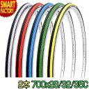 自転車 タイヤ 700×28c 32C 35C カラータイヤ 2本セット SR018 スピードクロス シンコー SHINKO ロード...