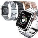 iLish アイリッシュ Apple Watch ステンレススチール ベルト ケース セット 38/40mm 42/44mm対応 アップルウォッチ SE/6/5/4/3/2/1 正..