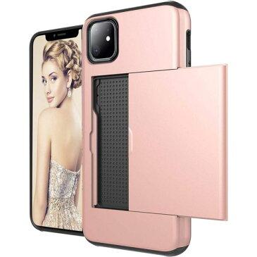 iLish アイリッシュ iPhone 11 全機種取扱 スリム ウォレット ケース|ローズゴールド ワイヤレス充電対応 スマホケース 正規品