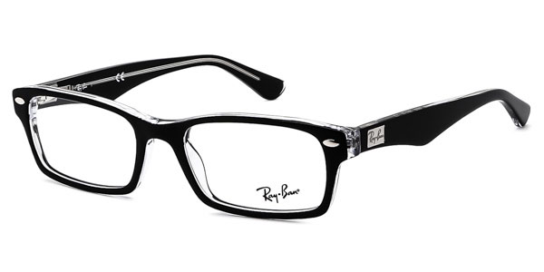 Ray Ban レイバン ユニセックス メガネ  Ray-Ban RX5206 Highstreet 2034 52 サイズ 正規品 安い  ケース付