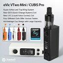 【あす楽】【電池付き】 Joyetech eVic-VTwo Mini with CUBIS Pro 電子タバコ アトマイザー セット 電子たばこ VAPE