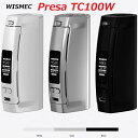 【あす楽】電子たばこ 電子タバコ バッテリー WISMEC PresaTC100W [プレサTC100W] 電子たばこ 電子タバコ