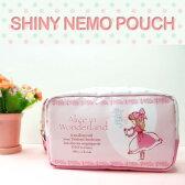 ピンクアリス シャイニー たっぷりポーチ - Shinzi Katoh design pink alice ahiny pouch