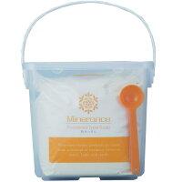 ミネランスソープ粉石鹸1kg(容器付き)
