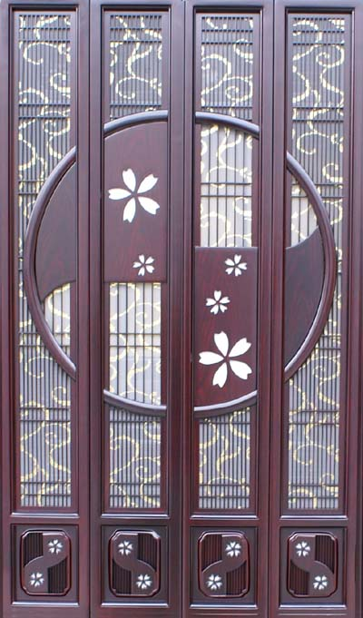 スマイル仏壇『43-18スマイル雅(ミヤビ)紫檀調』