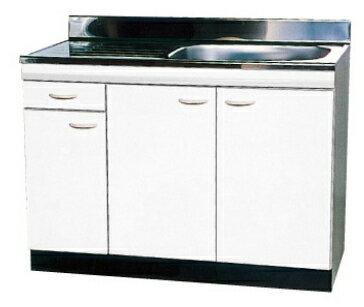 ドルフィン*Dolphin* ブロックキッチン VEDシリーズ 流し台(デッキ水栓タイプ) VED1000[R/L] 公団:住まeるデパート