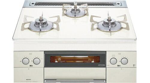 ノーリツ 【N3WP1PWASYWHES】 ガラストップ ガスビルトインコンロ Limited White(リミテッド・ホワイト) 60cmタイプ:住まeるデパート