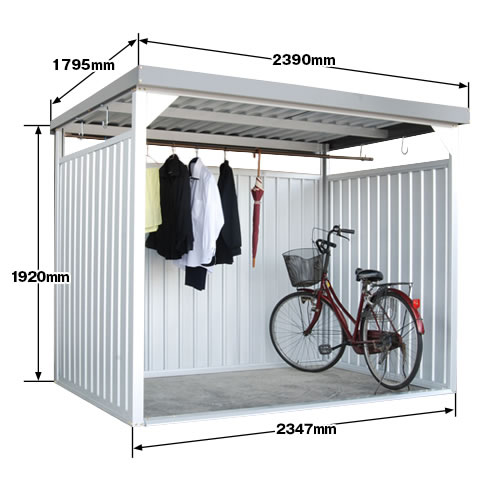 エクステリア・ガーデンファニチャー, 物置き  DM-10L 239019201795mm storage shed