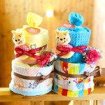 【送料無料】ディズニー_プーさん/おむつケーキ【オムツケーキ】【出産祝い/出産祝】【Disney】【送料込み】