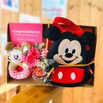 【送料無料】ディズニーミッキー&ミニー/おむつケーキ【オムツケーキ/ダイパーケーキ】【出産祝い/出産祝】【Disney】【送料込み】