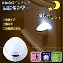 LED センサーライト/ インテリアLEDセンサーライト ASL-3304 /【ポイント 倍】