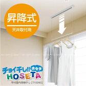 室内物干し 吊り下げ 竿付室内用物干し HOSETA[TF0090]/10P03Dec16