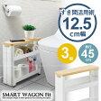 すきま収納 15cm / スマートワゴン サニタリー 3段 F-2549/【ポイント 倍】