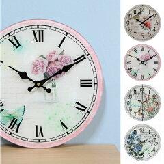 掛け時計 アンティーク / ガラスアンティーク時計/P15Aug15【ss】