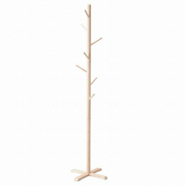 木製ポールハンガーL[ナチュラル][N-8287]/【ポイント 倍】