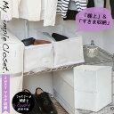 衣類 収納袋 クローゼット /MSC 2wayマルチ収納 衣類・小物用 85694