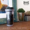 ウォールマグバールコールドブリュー/WALLMUG/BEARL/COLDBREW/タンブラー/水出しコーヒー/ストレーナー付き/蓋付き