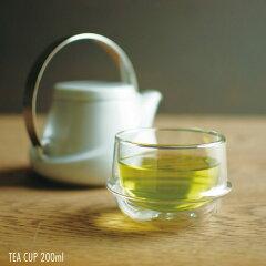 ティーカップ 耐熱ガラス カップ コップ マグ かわいい おしゃれ コーヒー カップ キントー KIN...