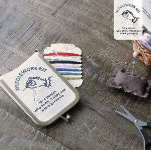 裁縫セット/携帯/NEEDLEWORK/ニードルワークミニソーイングセット/K755